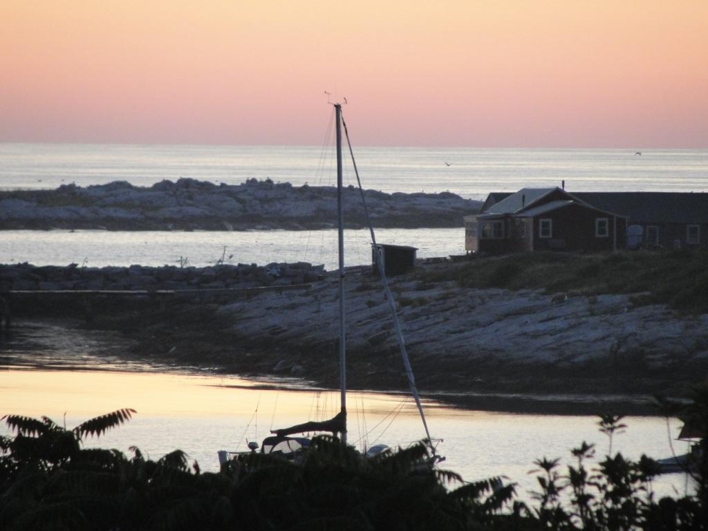 Dawn at Star Island