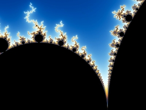 Mandelbrot Set Magnification by Wolfgang Beyer, Wikimedia Commons