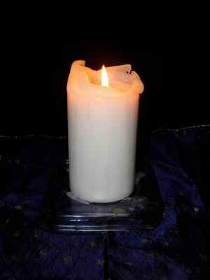 White Candle MJ DSC09662