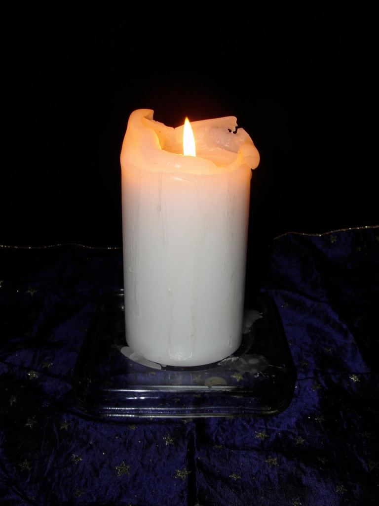 White Candle MJ DSC09662