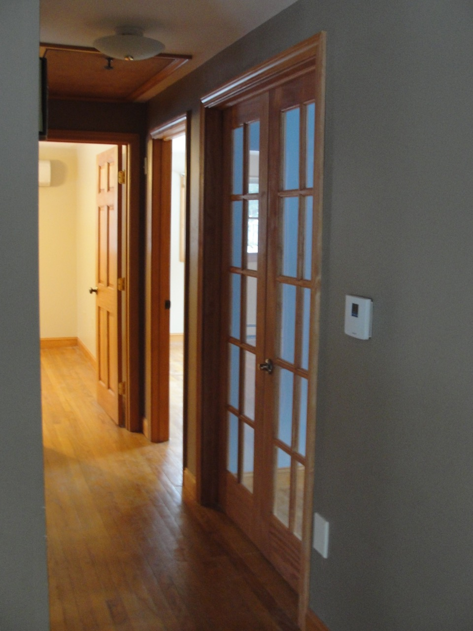 French Doors to Office