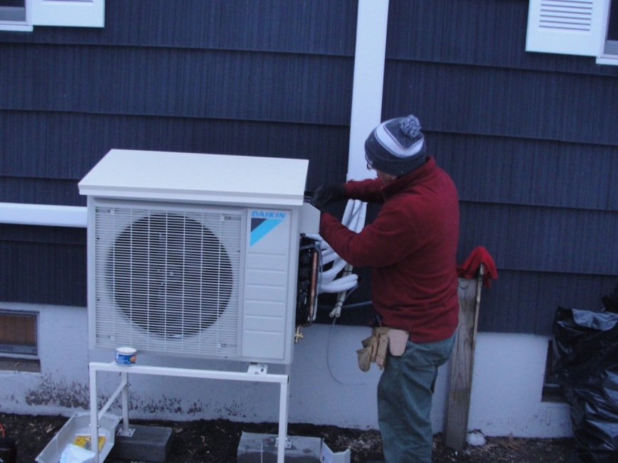 Heat Pump Final Touches