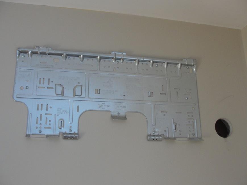 Heat pump wall mount