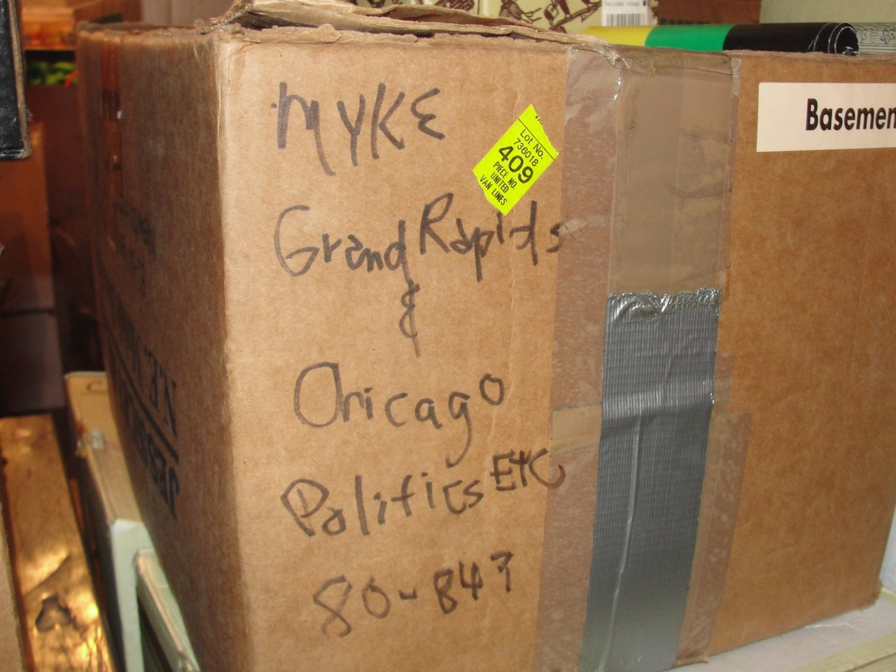 Grand Rapids Political work