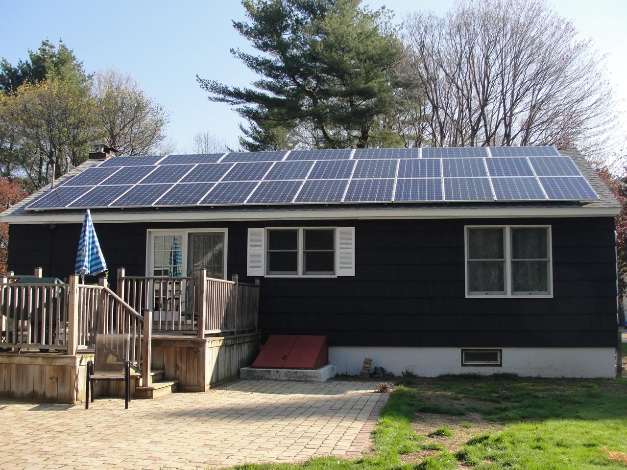 Solar Panels all up