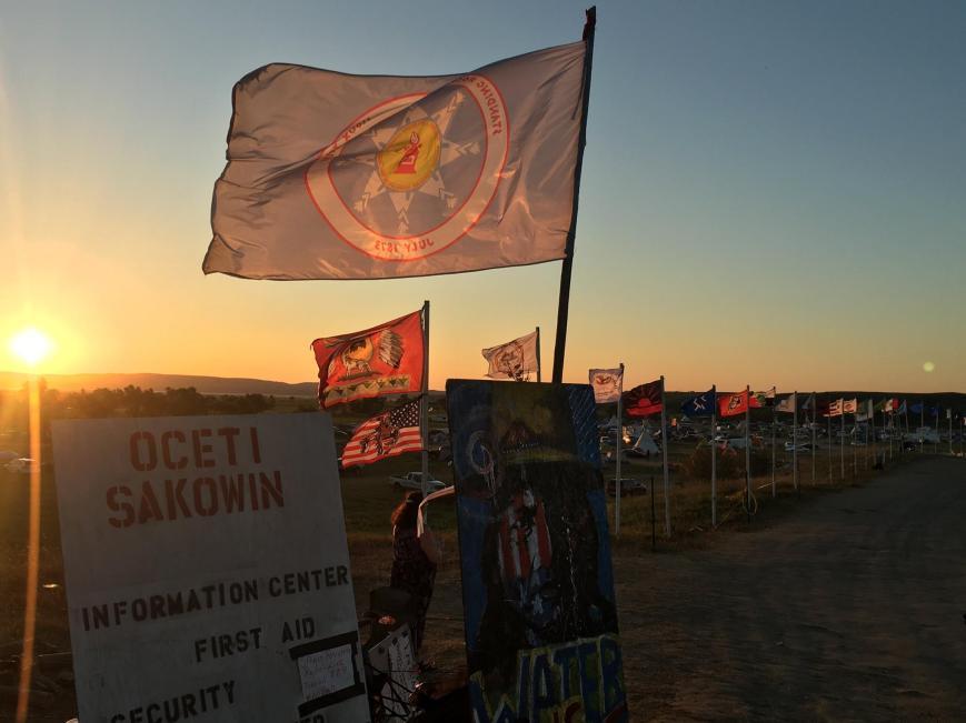 Dawn Standing Rock