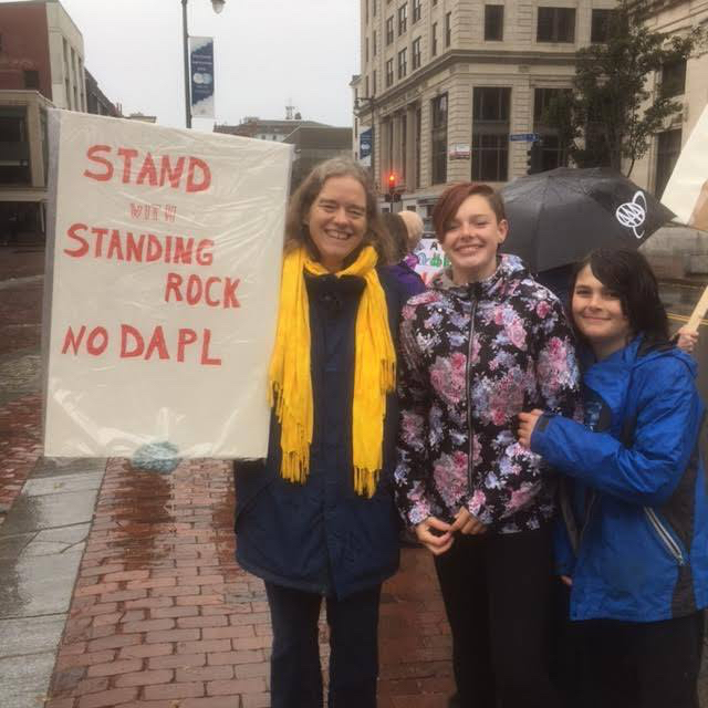 Standing with Standing Rock in Portland ME