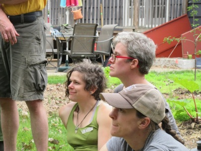 Opening Circle-Sylvia, Cathleen, Ali