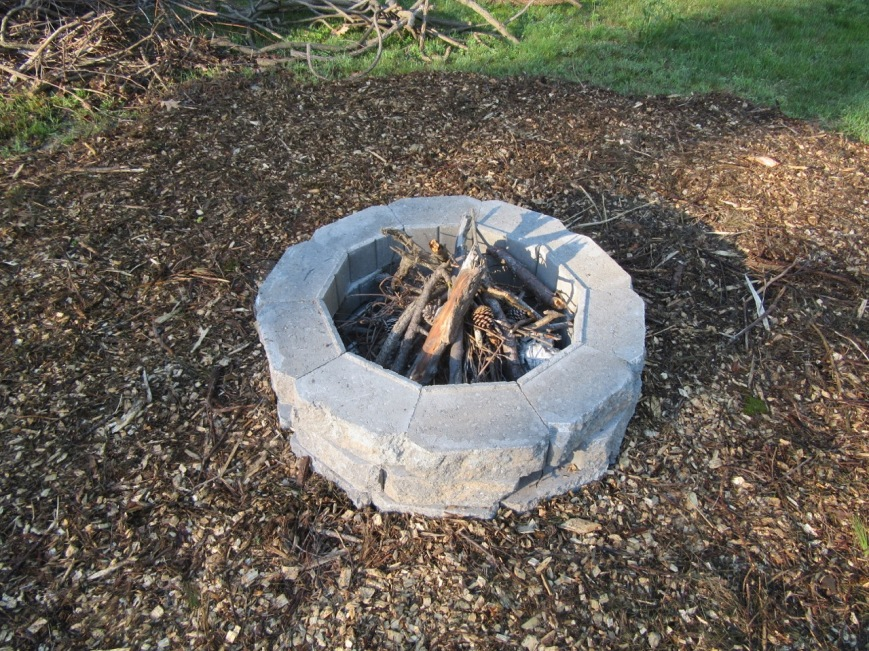 After- Fire Circle Close-up