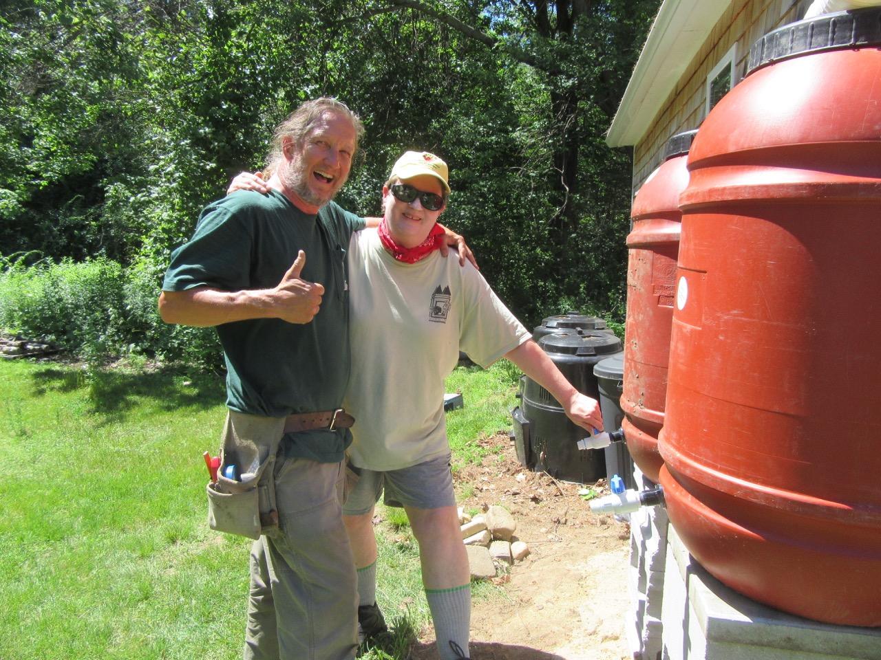 Barrel Spigot Trial Dave & Margy