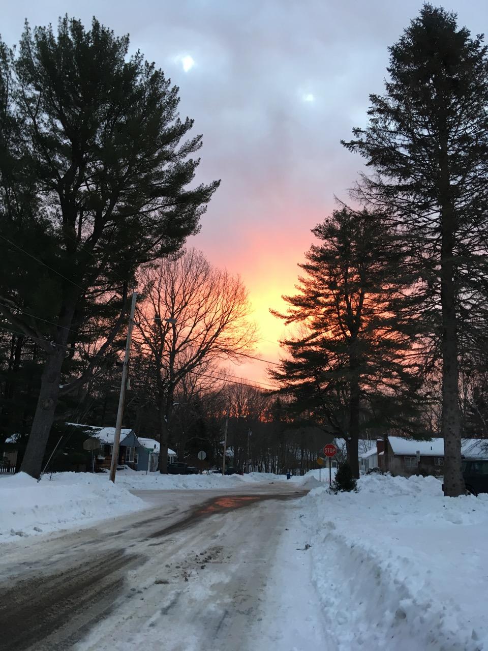 Sunrise surprise