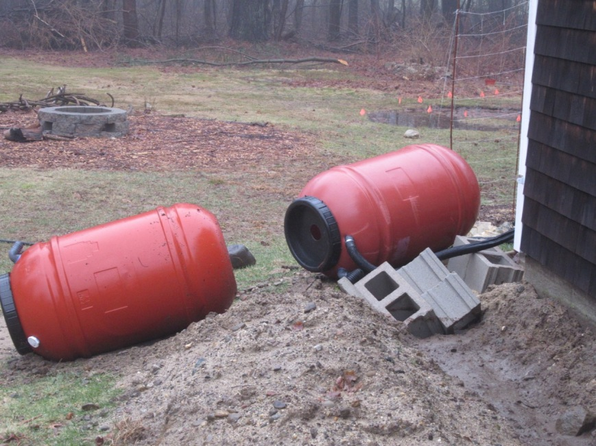 Rain Barrel calamity
