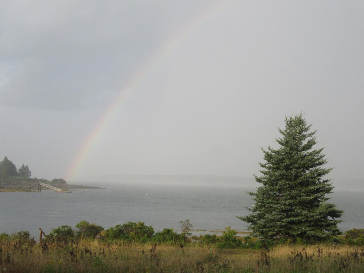 Rainbow in Cushing