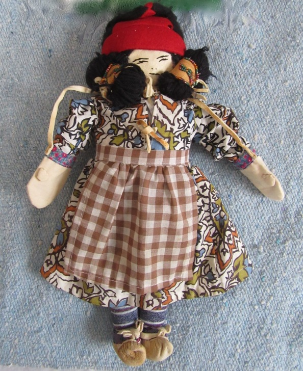 Innu Tea Doll Angela Andrew – Version 2