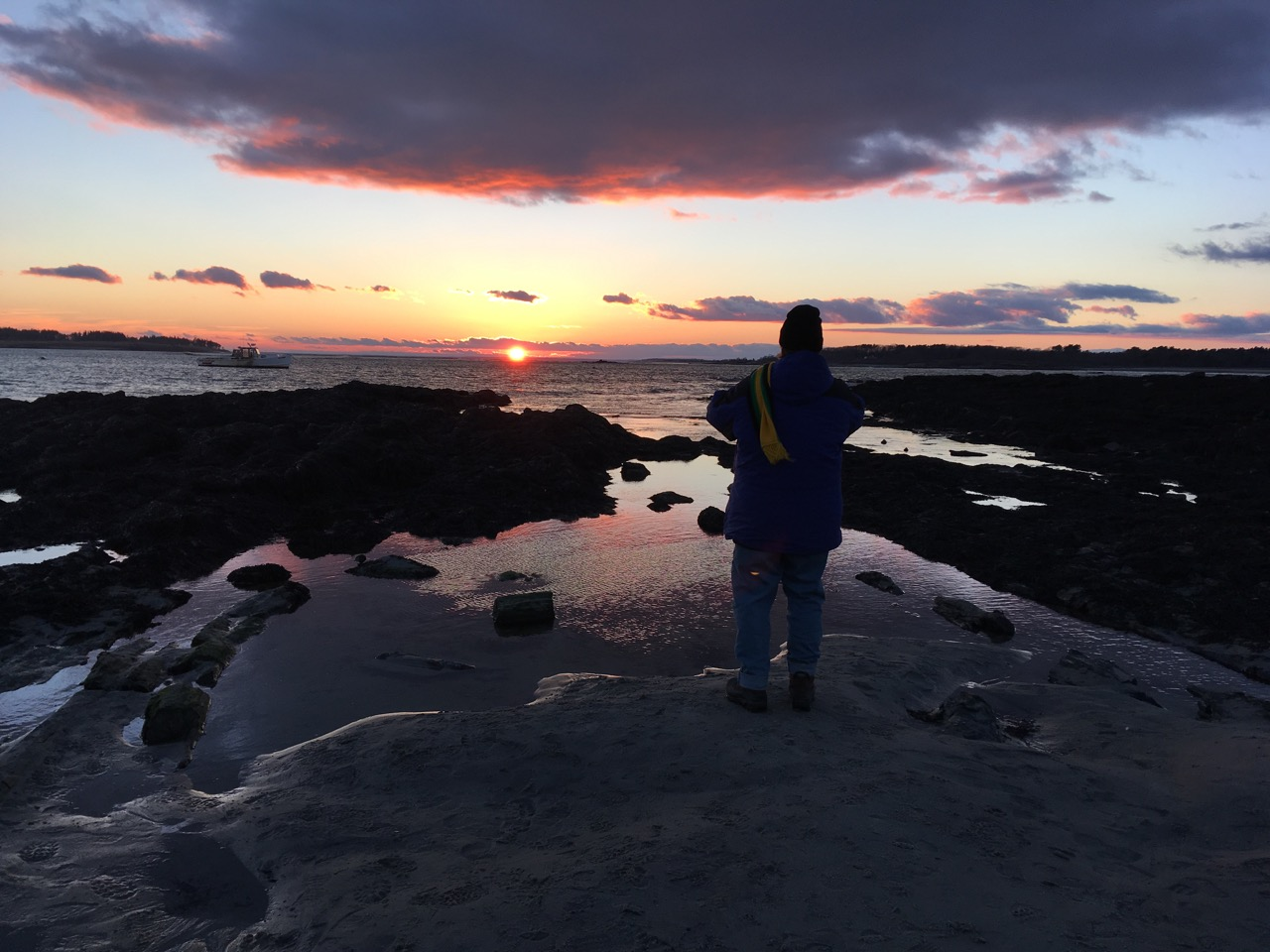 New Year Sunset with Margy