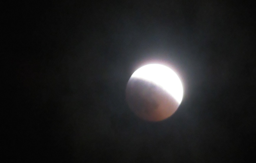 Lunar Eclipse half way – Version 2