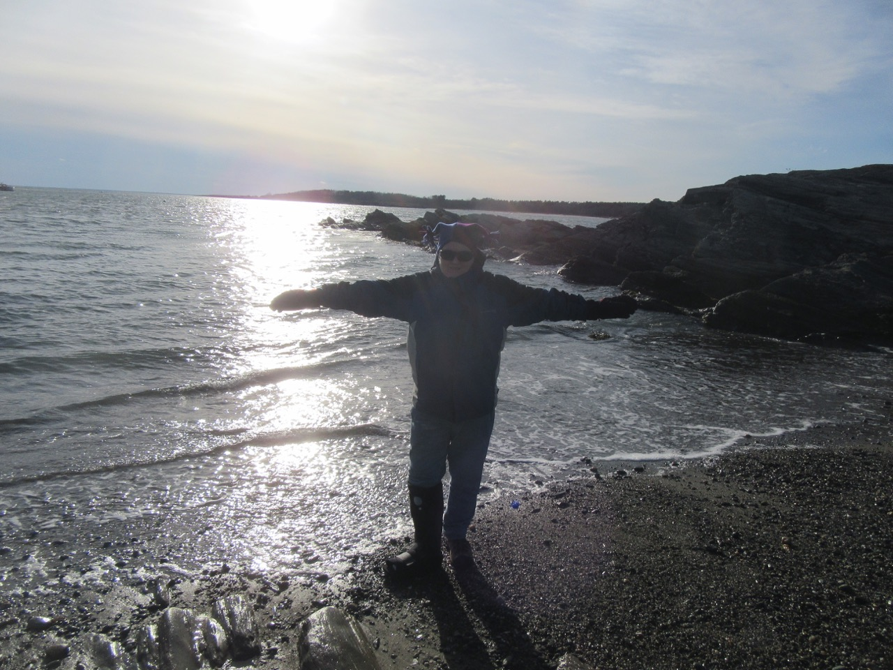 Margy at Kettle Cove