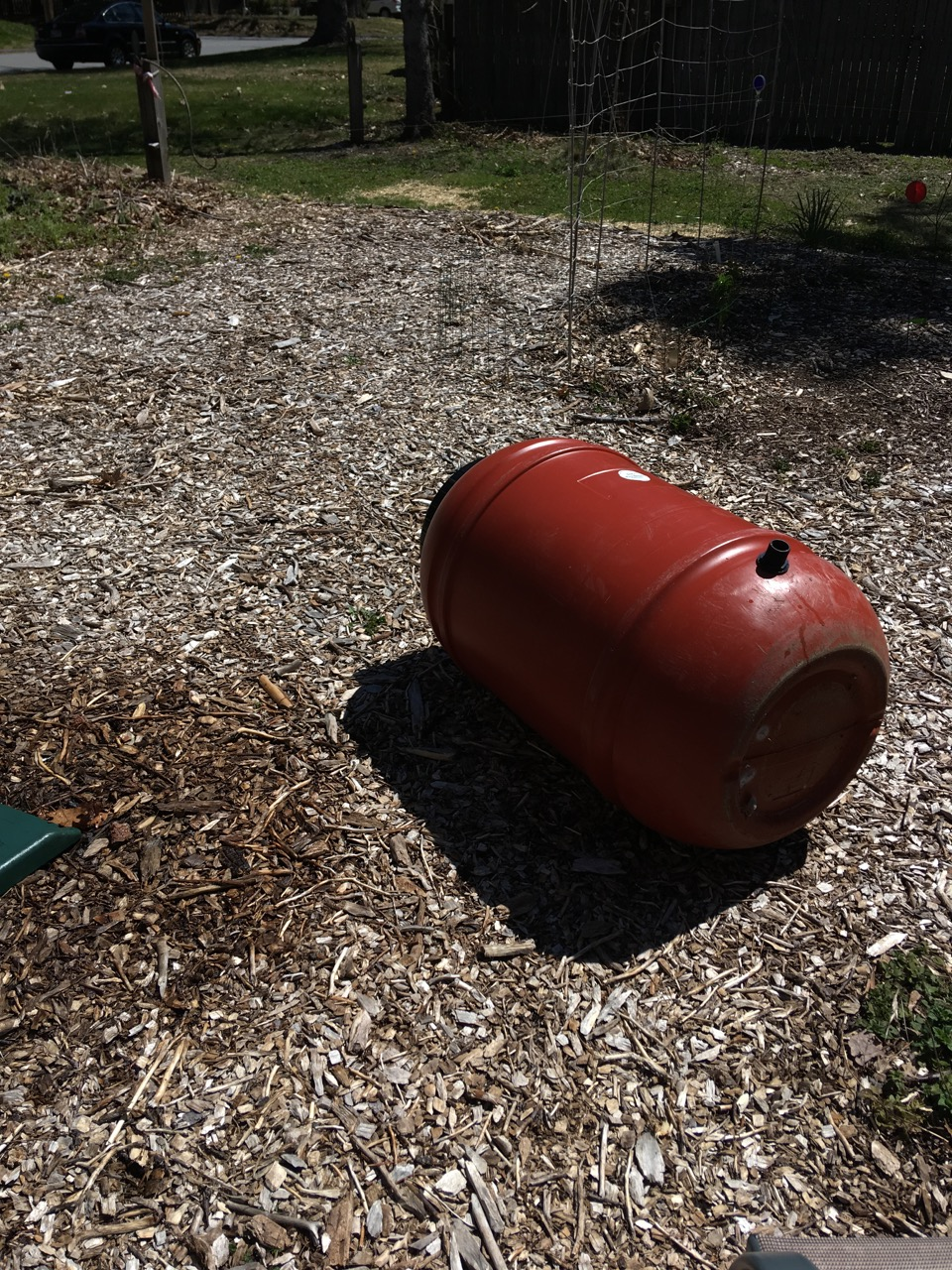 rain barrel to repair
